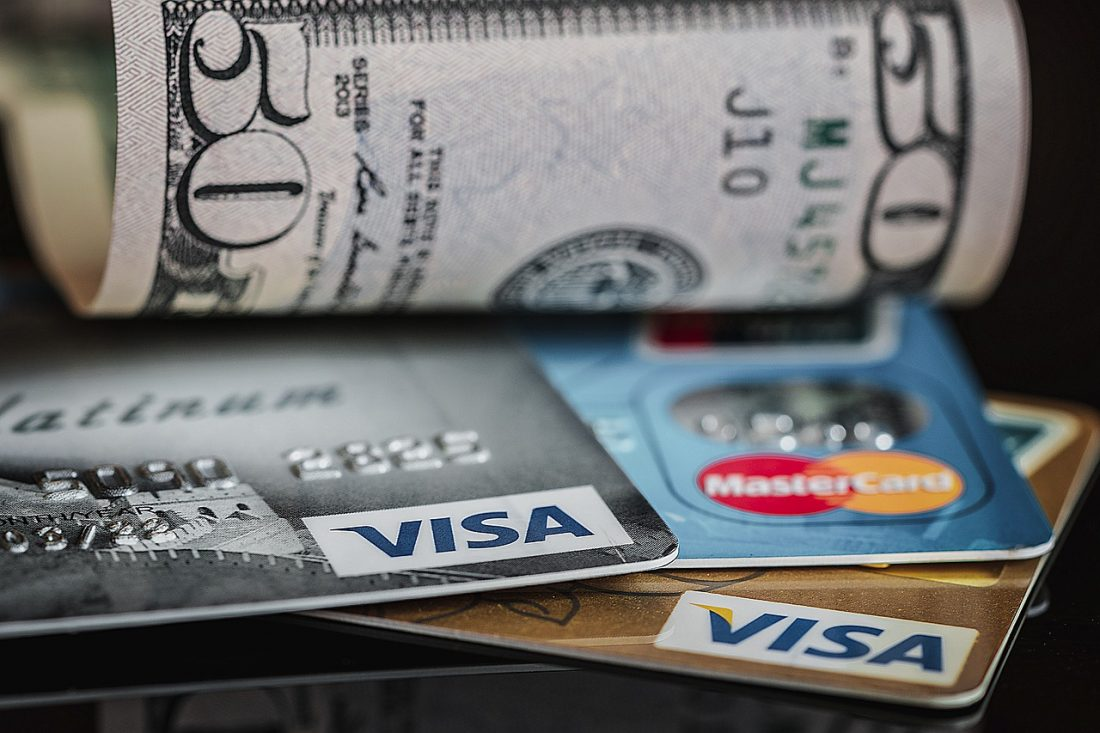 Credit Card Dollar Cash Money